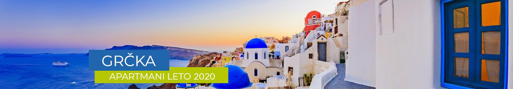 Grčka apartmani